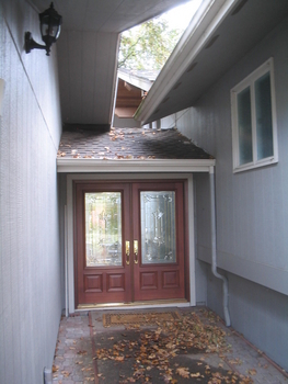 Front Entry Before