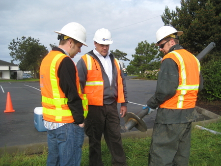 Dr. Howard Perko and ODOT Rep Jeff Berry
